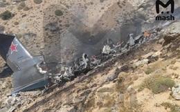 Máy bay cứu hỏa của Hải quân Nga đâm vào núi, 8 người thương vong