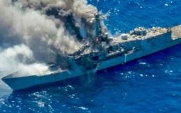 Quân đội Hoa Kỳ tung video tập trận mãn nhãn: tổng lực không – lục – hải quân đánh gãy đôi tàu khu trục
