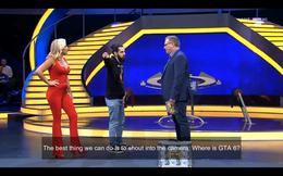 Đức: Fan cuồng của Grand Theft Auto cướp sân khấu gameshow, yêu cầu người dẫn chương trình cho biết GTA 6 ở đâu
