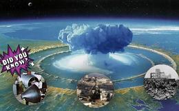 Quiz Vũ khí: 10 dữ kiện lịch sử thảm khốc về bom hạt nhân