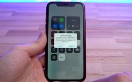 """Thủ thuật đơn giản này sẽ giúp iPhone của bạn tránh bị """"đột tử"""" khi cạn pin"""
