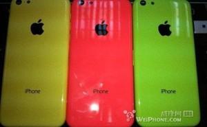 Rò rỉ màu sắc mới cho iPhone giá rẻ