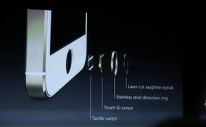Thông tin chính thức: iPhone 5S tích hợp nhận dạng vân tay vào nút Home