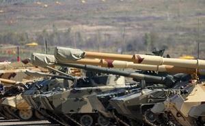 Toàn cảnh triển lãm vũ khí RAE 2013 tại Nga