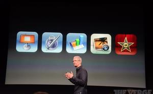 Apple phát hành miễn phí công cụ iWork tới người dùng