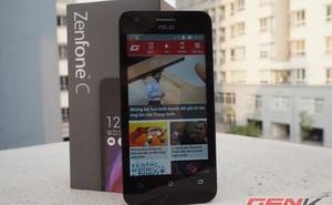 Trên tay smartphone ASUS Zenfone C: giá rẻ bất ngờ, cấu hình trong mơ
