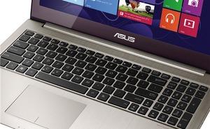 Ultrabook màn hình cảm ứng mới xuất hiện trên trang chủ Asus