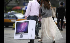 """Trung Quốc lại """"cắn"""" Apple"""