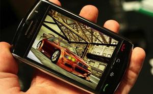 Bất ngờ khi game 3D đã chơi được trên BlackBerry