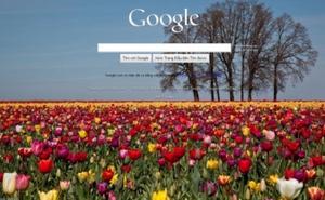 Trang chủ Google cho phép thay đổi hình nền