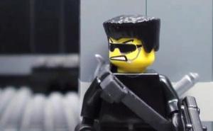 LEGO đấu súng ác liệt như phim hành động