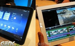 Nên mua iPad 2 hay Motorola Xoom?