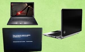 Laptop chơi game có giá hơn 200 triệu, Windows 8 thay màu màn hình xanh chết chóc