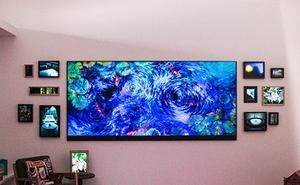 """Microsoft chơi trội với chiếc """"TV khổng lồ"""" 120 inch"""