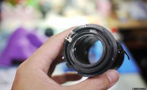 """Nikon """"đun sôi"""" ống kính để sửa chữa"""
