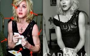 Chùm ảnh người nổi tiếng trước và sau khi Photoshop