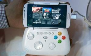Game Pad của Samsung Galaxy S4 dành cho cả Note 3 với kích thước 6,3 inch?