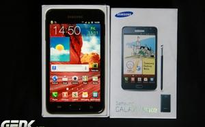 Samsung nâng cấp Jelly Bean cho Galaxy Note I