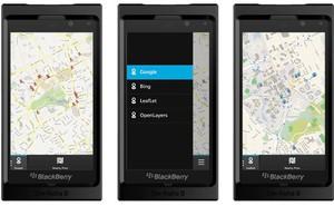 """BlackBerry Maps 10 bị """"ném gạch"""" không thương tiếc"""