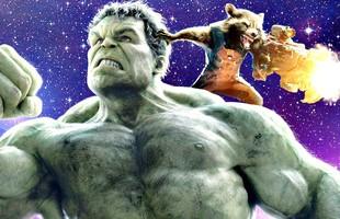 Hulk và chú chồn Raccoon trong Guardians of the Galaxy sẽ là tâm điểm hài hước trong phim Avengers: Infinity War mới