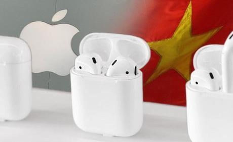 Dân mạng Trung Quốc 'sôi sục' vì thông tin Apple sẽ lắp ráp tai nghe AirPods tại Việt Nam