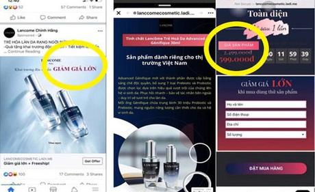 Hàng loạt website giả mạo, bán hàng lừa đảo