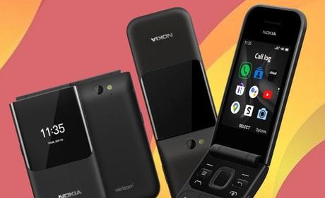 Nokia 2720 V Flip ra mắt: Thiết kế nắp gập, 2 màn hình, chạy Kai OS, giá 79 USD