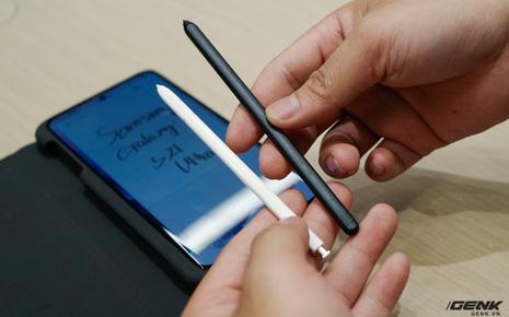 Galaxy S21 Ultra tương thích ngược với bút S-Pen đời trước mượt thế nào, xem video này là biết ngay