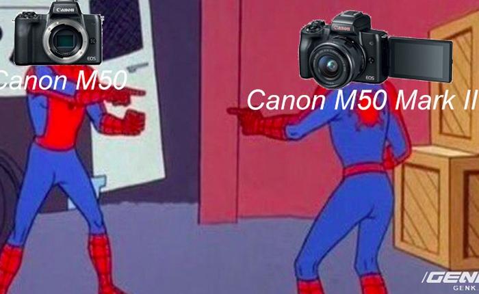 """Canon vừa ra mắt máy ảnh EOS M50 Mark II nhưng hình như có gì đó hơi """"sai sai"""""""
