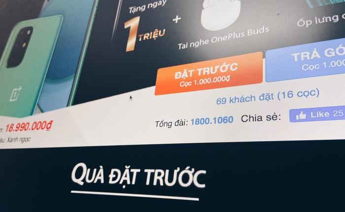 Bán được 30.000 máy chỉ sau 1 phút tại Trung Quốc, thế nhưng OnePlus 8T lại chỉ có vỏn vẹn... 16 người cọc sau gần 1 tuần tại Việt Nam