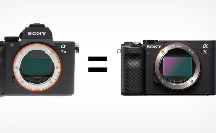 Sony a7C có chất lượng ảnh y hệt a7 III: Sony hết ý tưởng hay tạo sự lựa chọn cho người dùng?