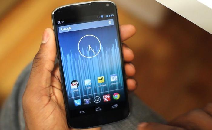 Google Nexus 4: giá rẻ chưa bằng một nửa Pixel 5 nhưng vẫn có chipset flagship