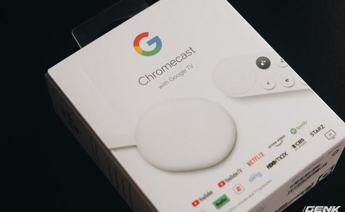 """Trên tay Chromecast with Google TV: """"Kẻ huỷ diệt"""" Android box, giá 1.5 triệu đồng"""