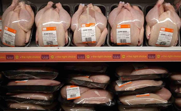 Tại sao những con gà trong siêu thị không có đầu?