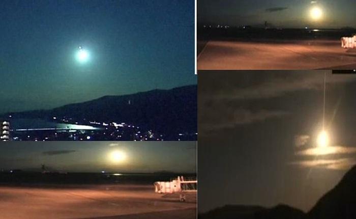 Phát hiện quả cầu lửa khổng lồ bay qua bầu trời Nhật Bản, sáng rực hơn cả Mặt Trăng