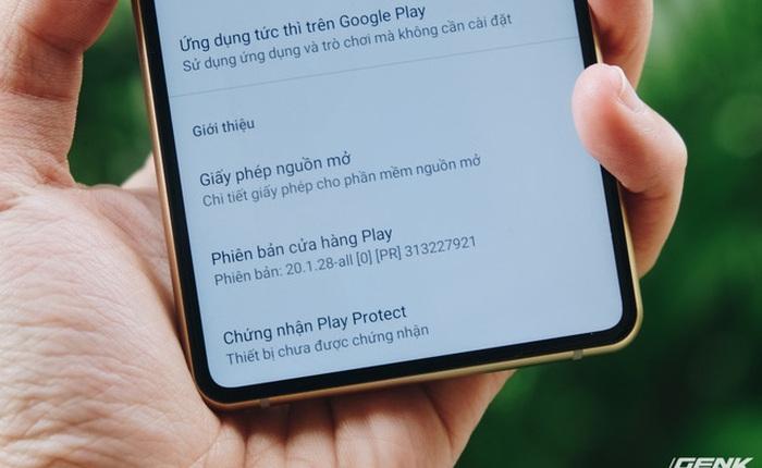 BKAV cập nhật Android 10 cho Bphone B86, vẫn chưa có Play Protect