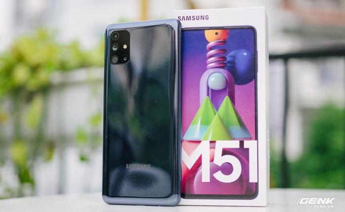 Trên tay Galaxy M51: Smartphone có pin trâu nhất phân khúc, giá 9.49 triệu đồng