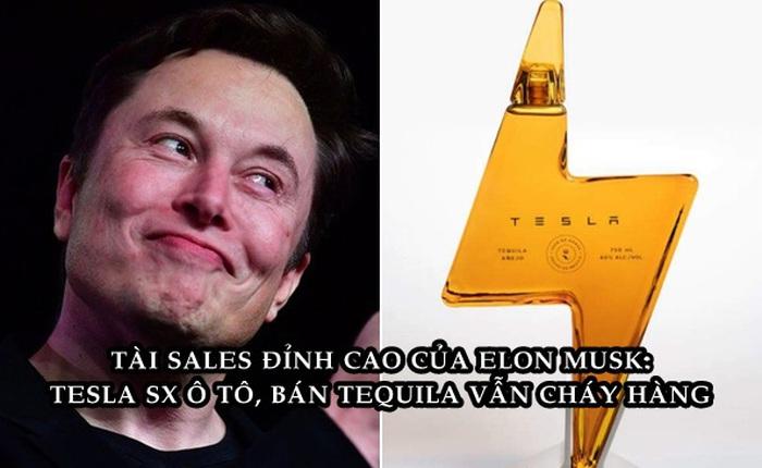 Tesla tiếp tục tung sản phẩm 'lạc loài': Rượu tequila giá 250 USD/chai, cháy hàng sau 'vài nốt nhạc'