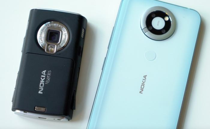 Hình ảnh nguyên mẫu Nokia N95 bị HMD khai tử