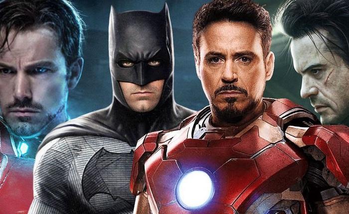 """So sánh Batman và Iron Man: """"chạn"""" nhà ai to hơn?"""