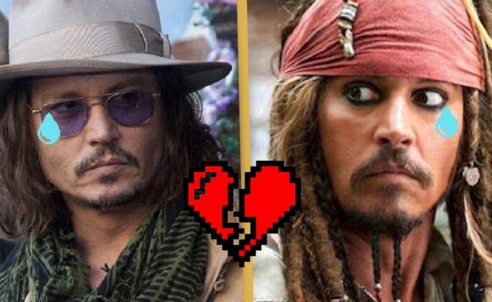 Johnny Depp bị Disney cấm trở lại với vai Jack Sparrow trong Cướp biển vùng Caribbean