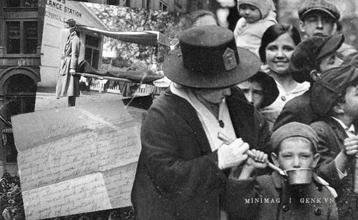 """Nhìn lại Giáng sinh trong đại dịch cúm 1918: """"Tôi đã chứng kiến nhiều tang lễ hơn cả cuộc đời mình cộng lại"""""""