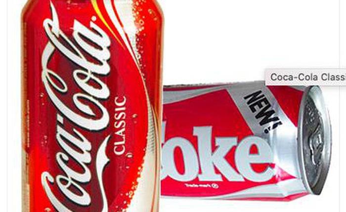 Bài học từ thất bại marketing lớn nhất của Coca-Cola: Đừng cố thay đổi bản thân chỉ vì cho rằng mọi người sẽ thích!