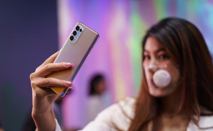 Nhìn lại OPPO Reno5 vừa ra mắt tại Việt Nam hôm nay: nhiều tính năng quay video lần đầu xuất hiện, giá 8,69 triệu đồng