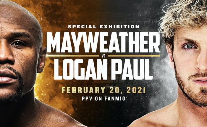YouTuber Logan Paul tiếp tục chơi ngông, sẽ so găng với tay đấm Floyd Mayweather vào ngày 20 tháng 2