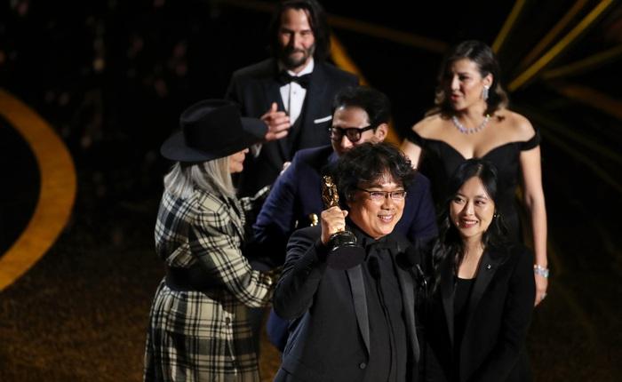 Lễ trao giải Oscar 2020: Phim Hàn Quốc Parasite thắng lớn với 4 giải, The Irishman trắng tay