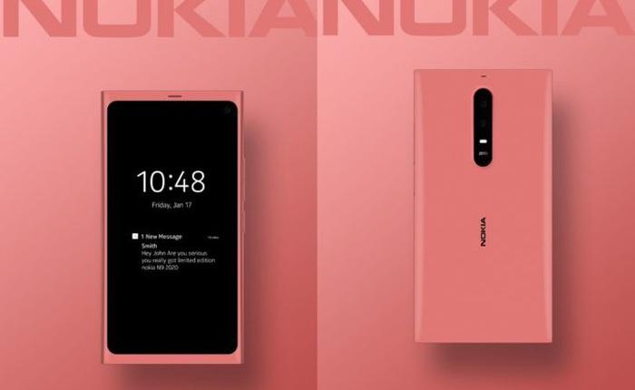 Đây có thể là chiếc smartphone Nokia N9 2020