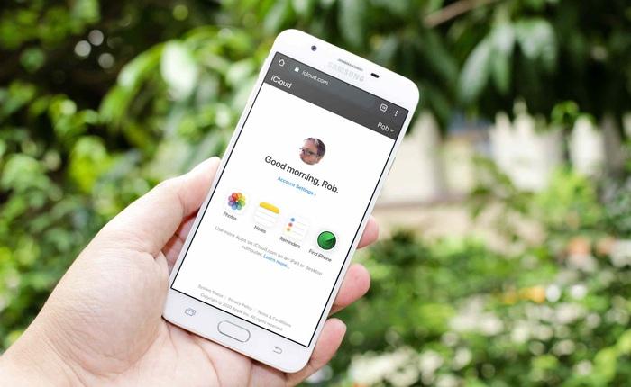 Apple mang iCloud lên Android thông qua trình duyệt web