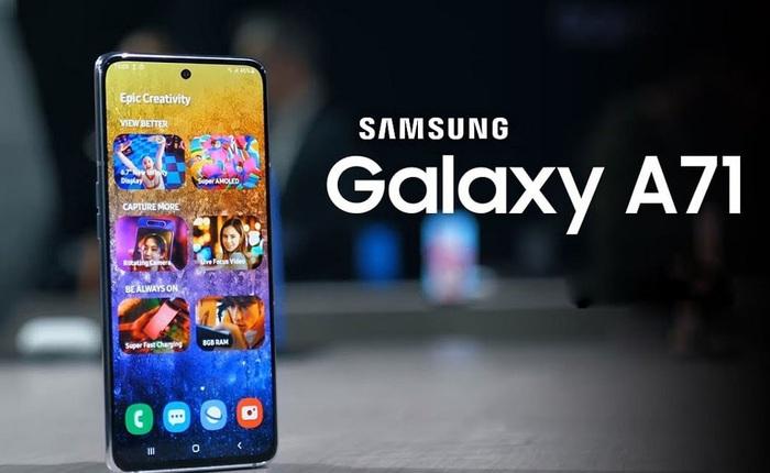 Galaxy A51 đang bán tốt, sao Samsung lại ra mắt Galaxy A71?