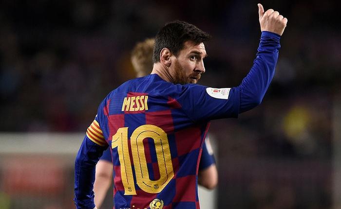 """CLB Barcelona bác bỏ tin đồn lập hàng loạt tài khoản ảo để nói xấu Messi, sau đó đăng liên tục 8 bài viết để """"nịnh"""" siêu sao số 1 của đội bóng"""